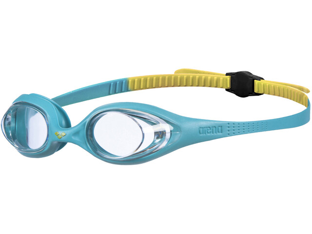 arena Spider Goggles Kids clear/mint/yellow